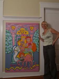 2011_Melodie_Mermaid_Painting_with_Suzae
