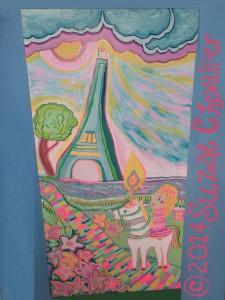 Melodie_UniCandle_Eiffel_TowerBySuzaeCopyright