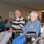Nursing home audience members