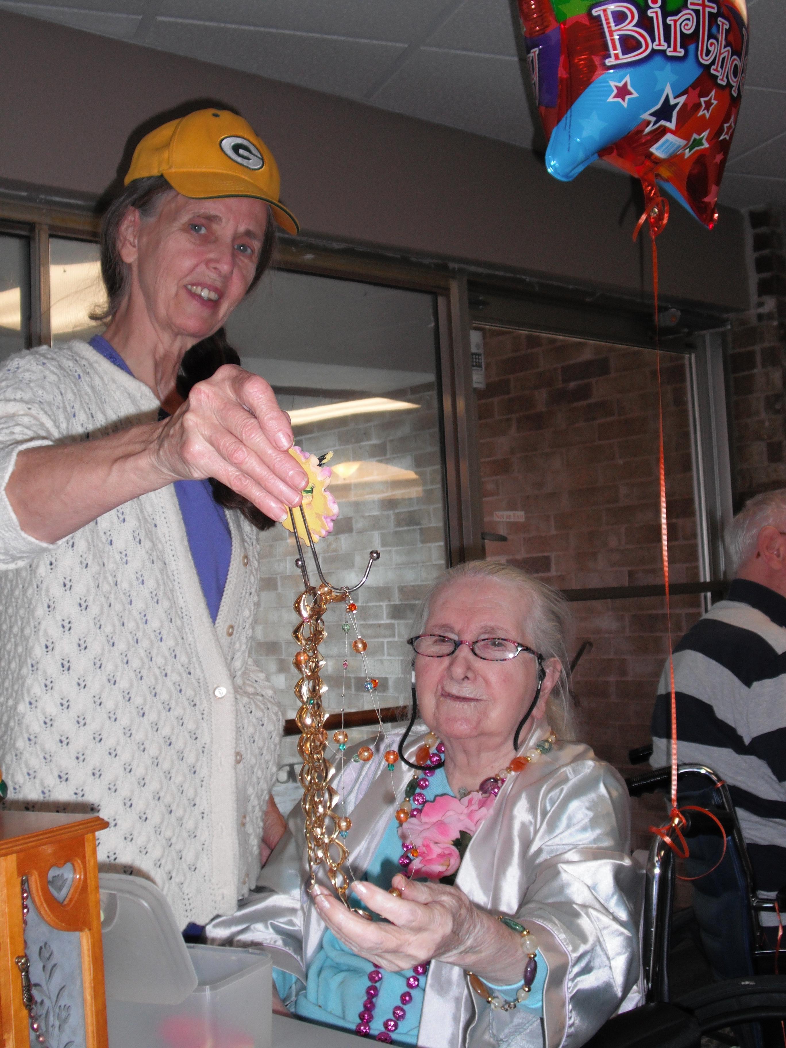 Donna and Grandma Kay