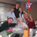 Russ, Sherm, Andy, Donna, Grandma Kay and me