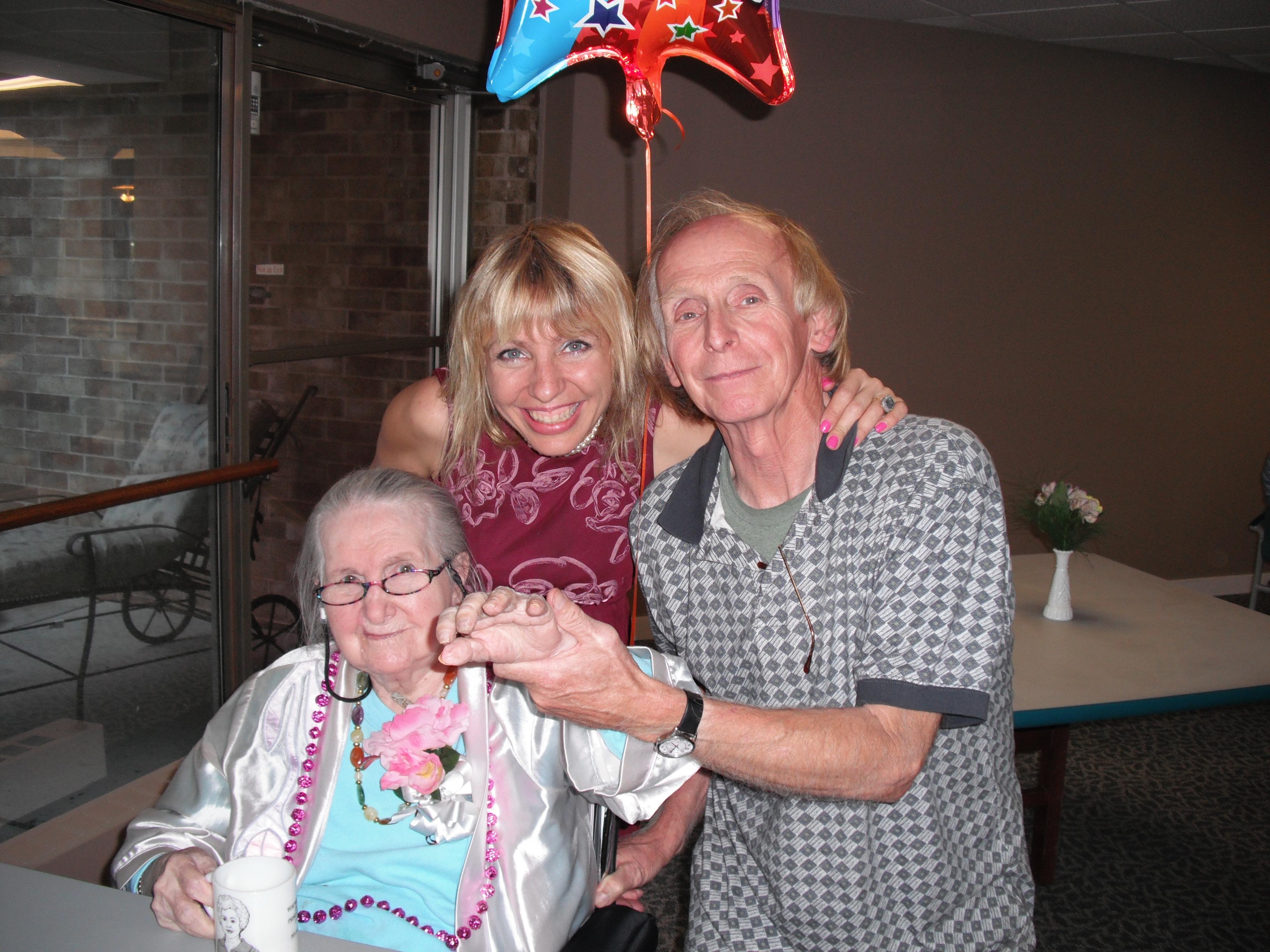 Grandma Kay, Ev and me
