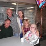 Russ, Ev, Donna, me and Grandma Kay