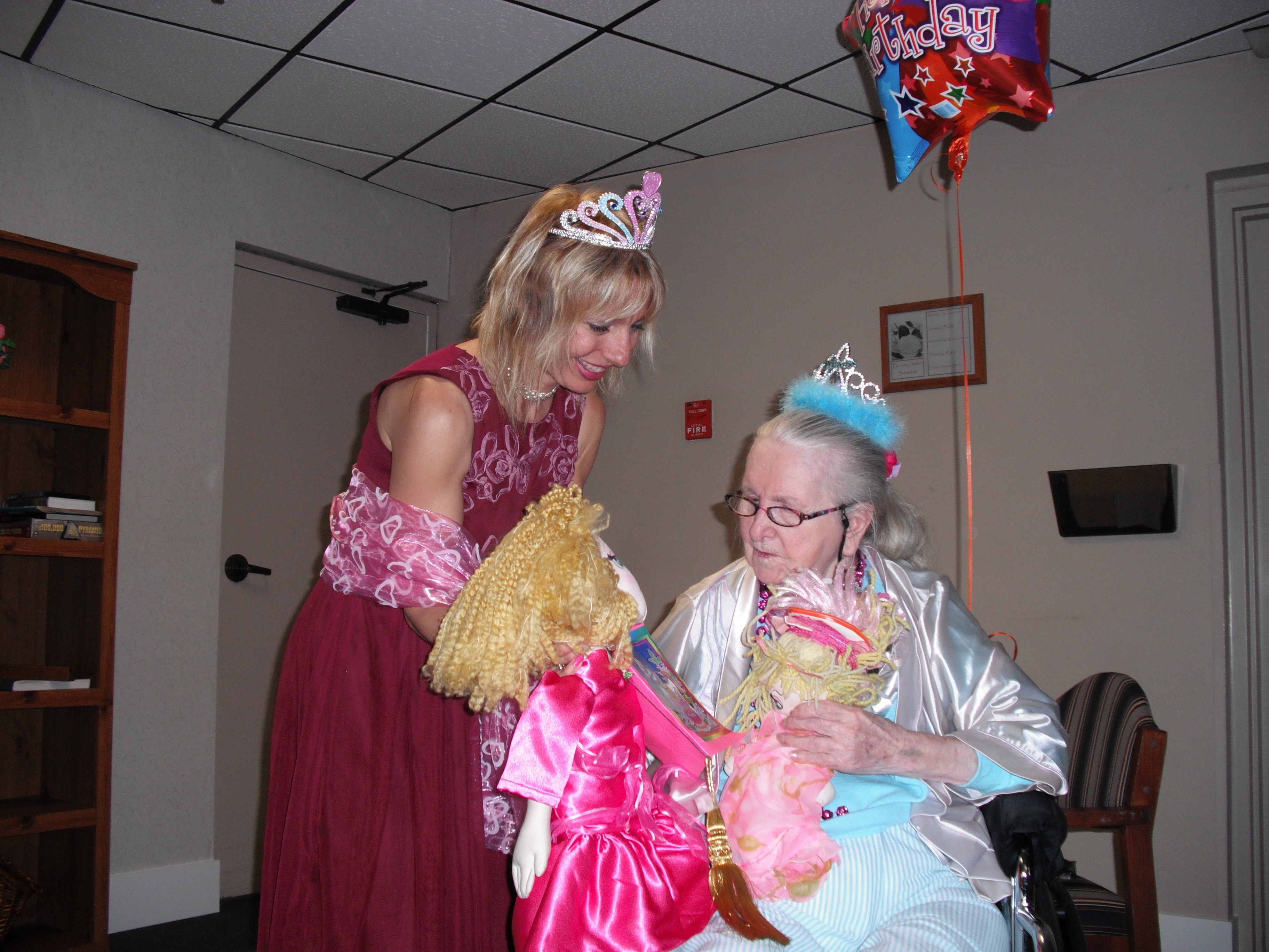 Upclose with Grandma Kay