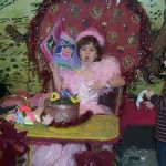 Princess Blowing Out Krendoll Cake