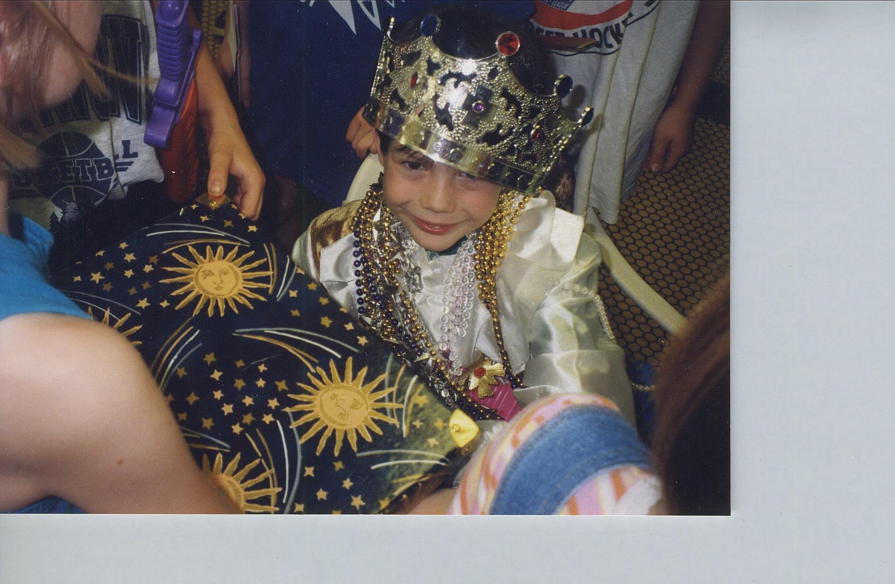 Prince Emeray becomes a knight