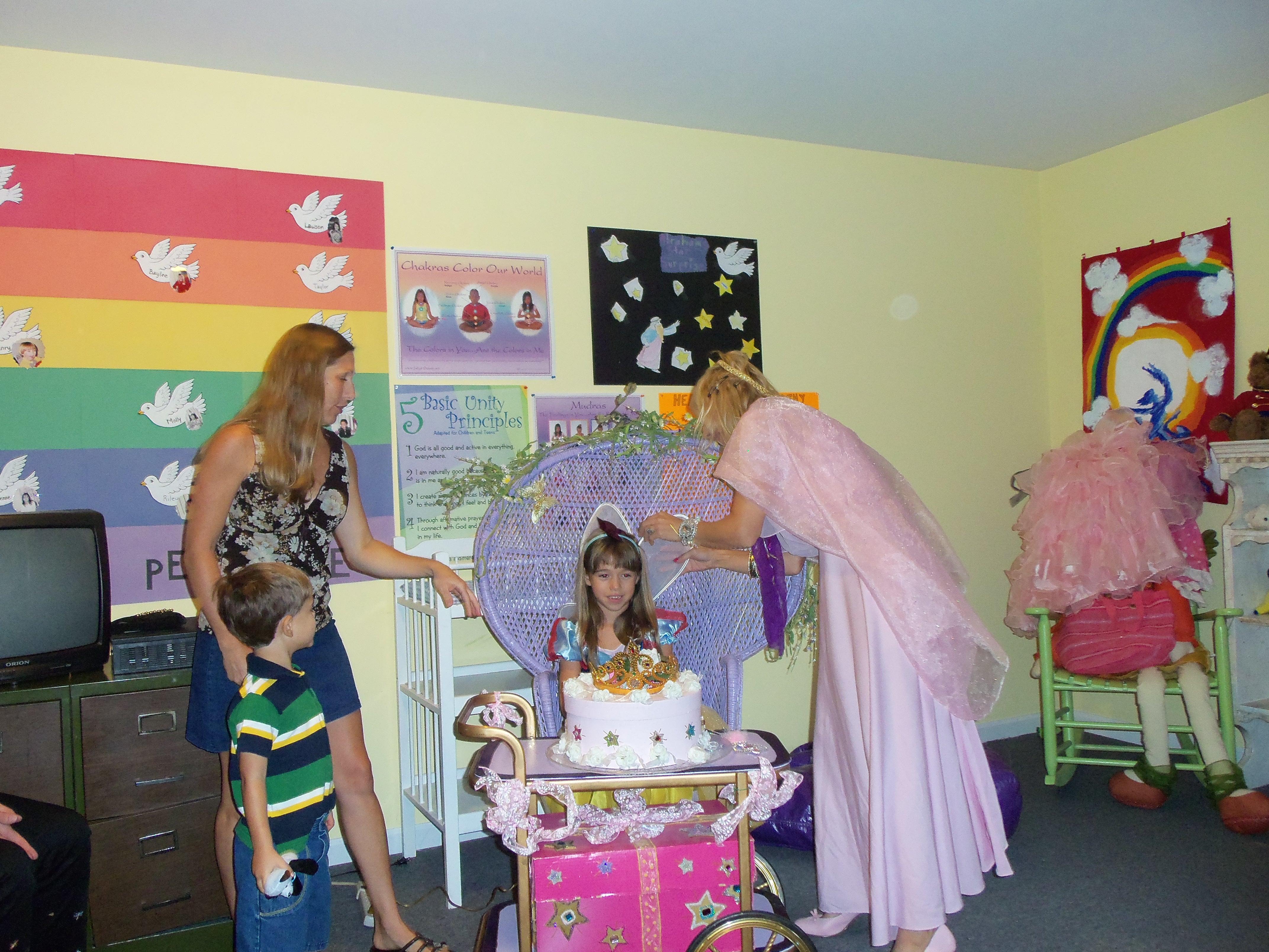 Adjusting Fairy wings...!