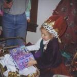 Victoria unwwraps Krendoll gift