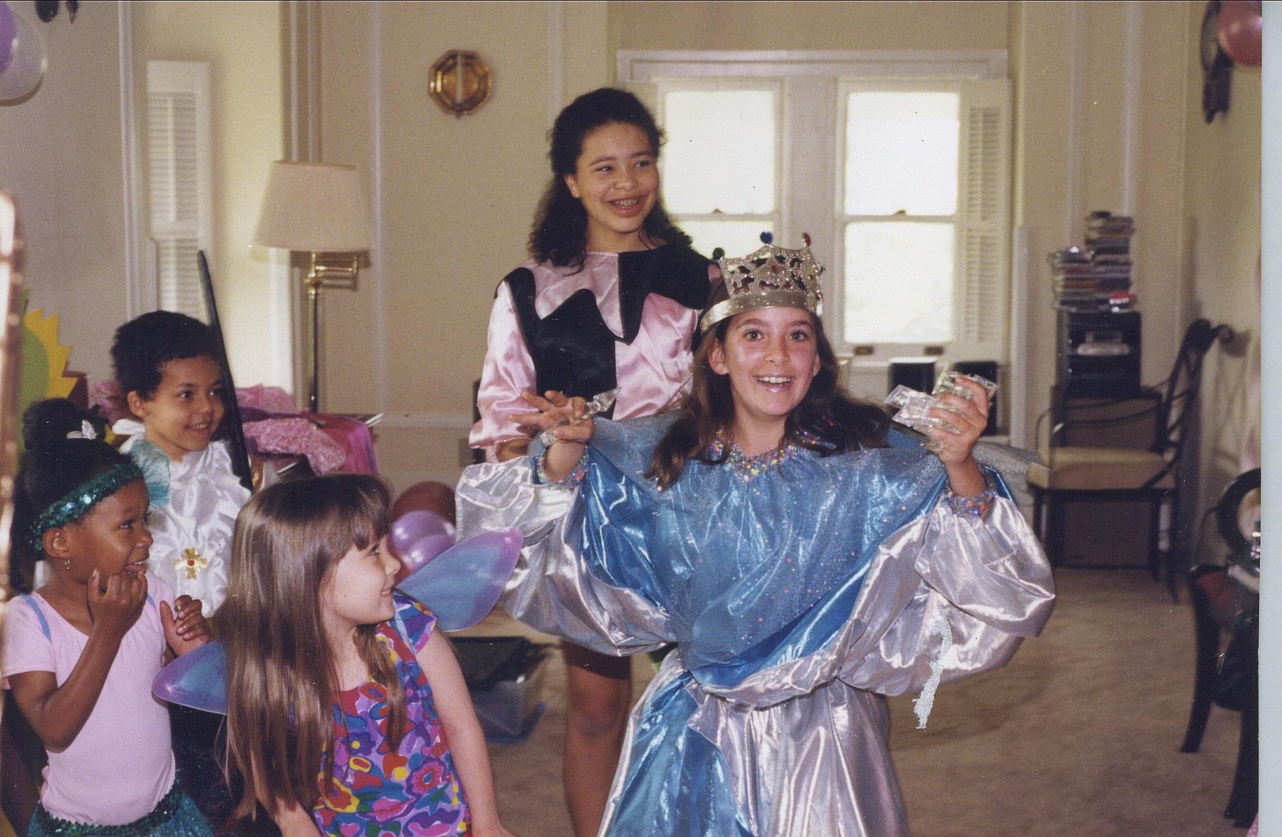 Savanah's Birthday Party 2000