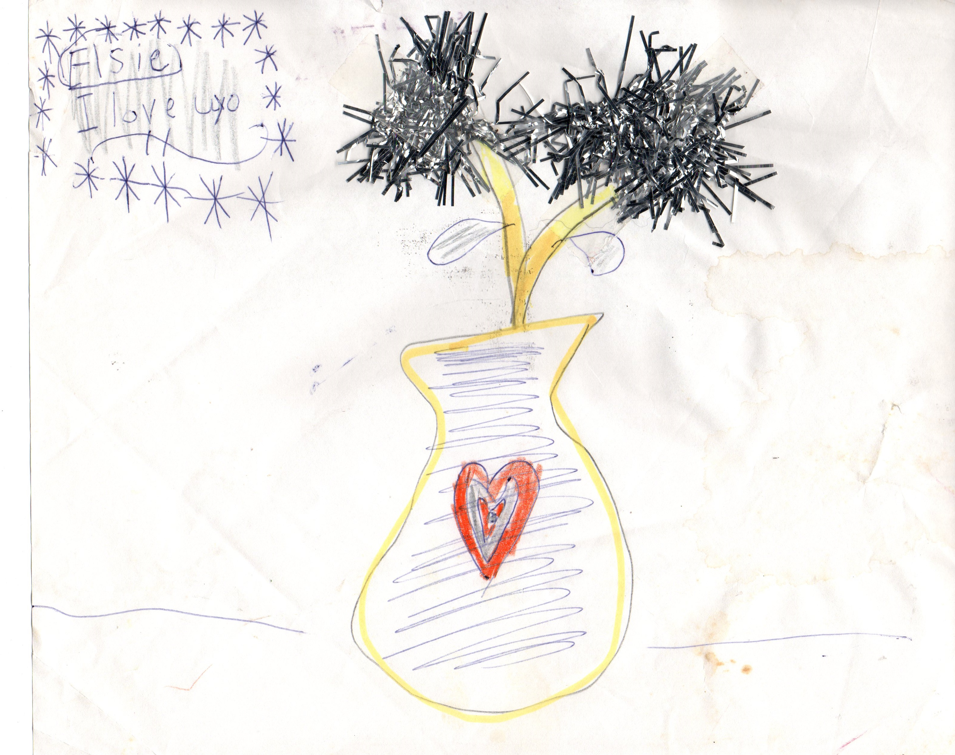 Children's Artwork From Nanny Days