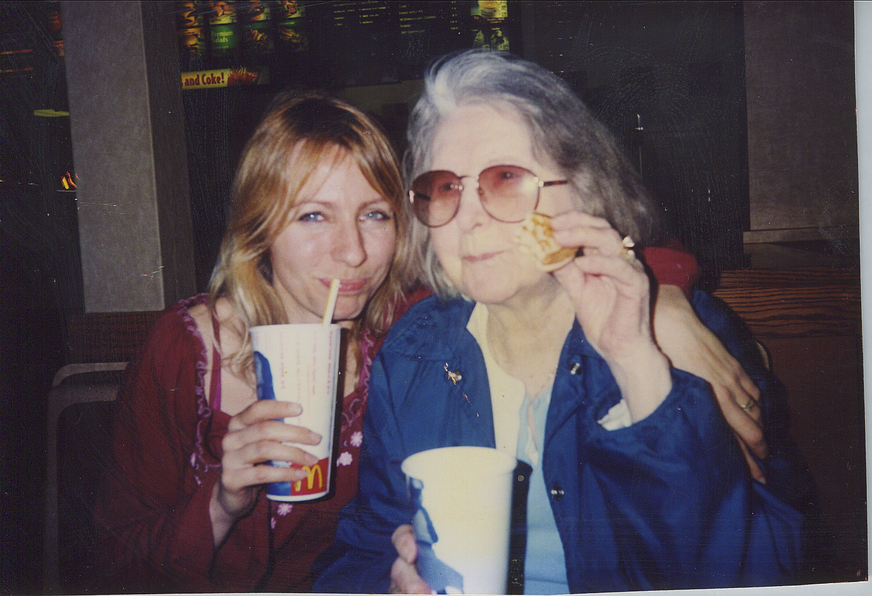Suzae Chevalier and Grandma Kay