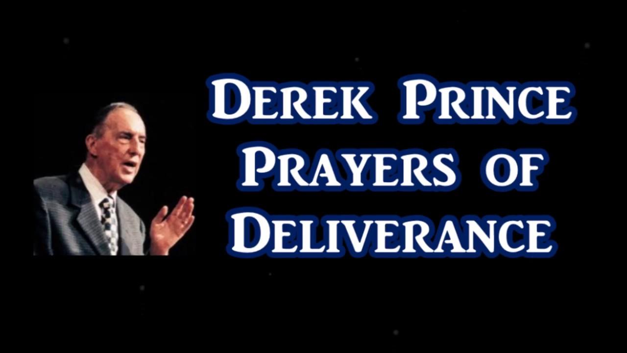 Pastor Derek Princes Deliverance from addictions, etc.